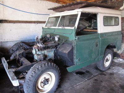 Land Rover Series 2a for sale in Nottinghamshire 4307 More Used Land