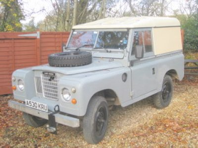 land rover 3 series. 1984-Land-Rover-Series-3-for-