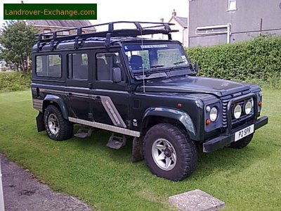 for used rover uk land green landrover sale softtop defender newmarket diesel automatic in tdci