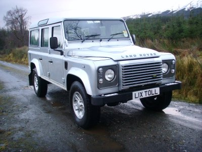 Land Rover Defender 110 For Sale In Central Scotland 4350